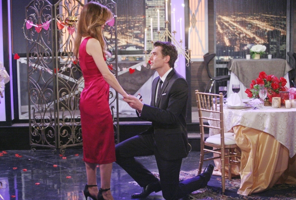 Billy proposes to Victoria