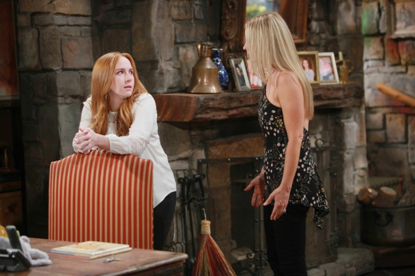 Sharon tells Mariah the truth