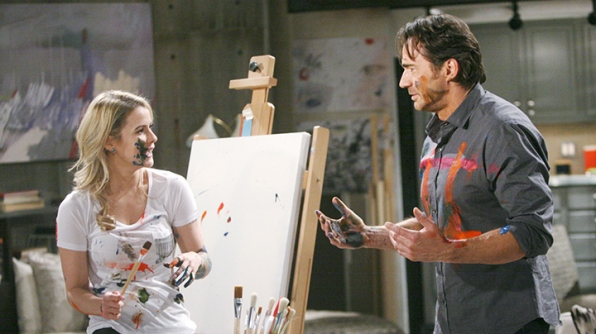 Caroline and Ridge - The Bold and the Beautiful