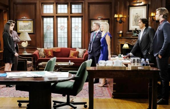 Ridge makes serious accusations towards Quinn regarding her treatment of Eric.