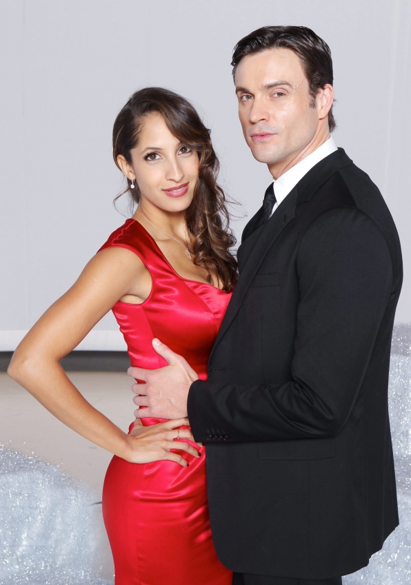 Christel Khalil and Daniel Goddard
