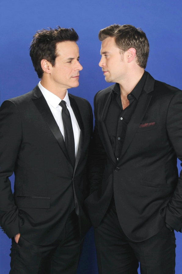 Christian Jules LeBlanc and Billy Miller