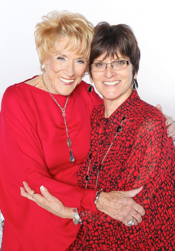 Jeanne Cooper and Executive Producer Jill Farren Phelps