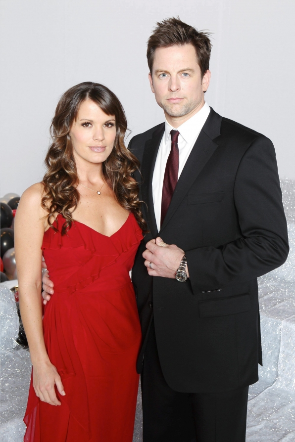 Melissa Claire Egan and Michael Muhney