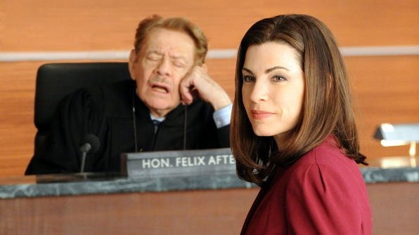 Judge Felix Afterman (Jerry Stiller)