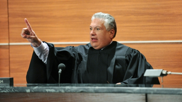 Judge Francis Flamm (Harvey Fierstein)