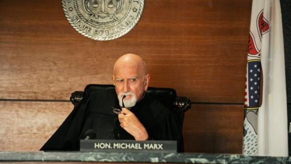 Judge Michael Marx (Dominic Chianese)