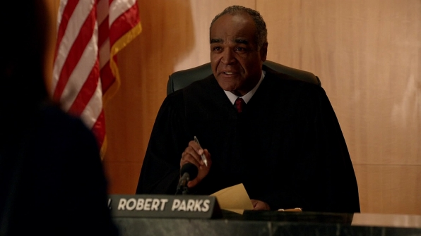 Judge Robert Parks (David Fonteno)