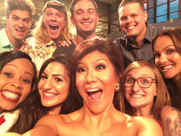 20. Julie Chen and the cast of Big Brother