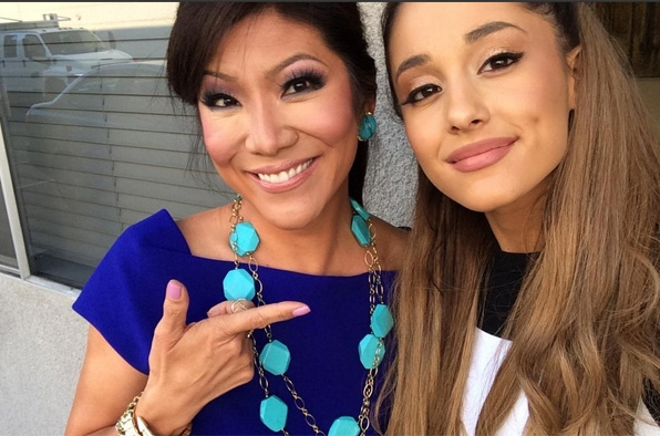 57. Julie Chen and Ariana Grande - Big Brother