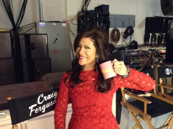 Julie Chen - Behind the Scenes at The Late Late Show