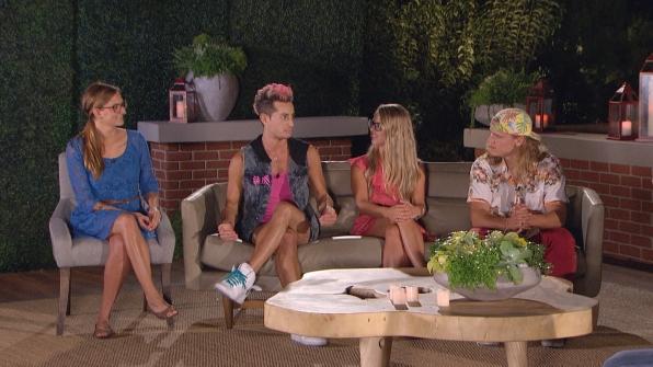 Christine, Frankie, Nicole and Hayden