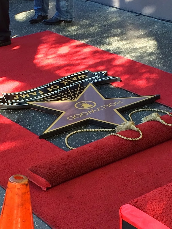 Kaley's Star Pre-Unveiling