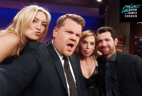 Kate Hudson, Ruth Wilson, & Billy Eichner