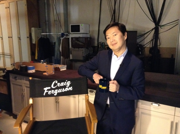Ken Jeong - Behind the Scenes at The Late Late Show