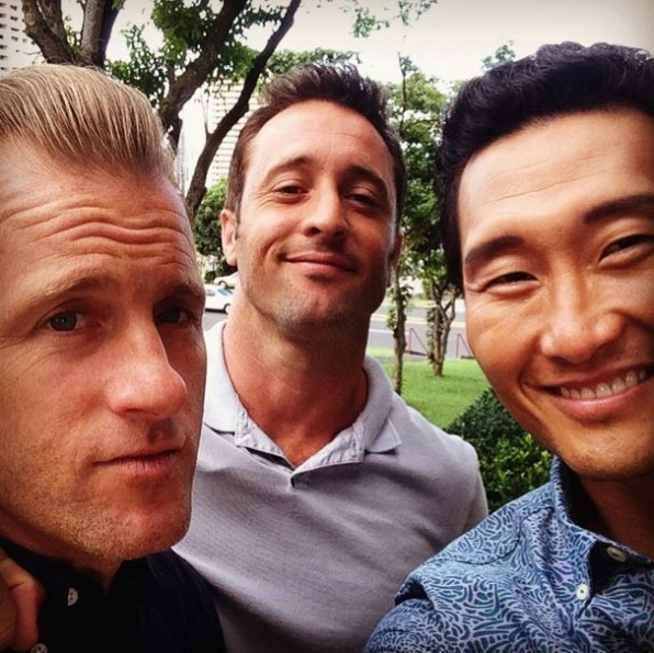 Scott Caan, Alex O'Loughlin and Daniel Dae Kim - Hawaii Five-0