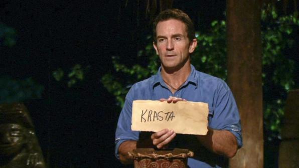 "It's Krista, not ""Krasta"""