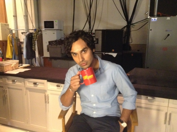 Kunal Nayyar - Behind the Scenes at The Late Late Show