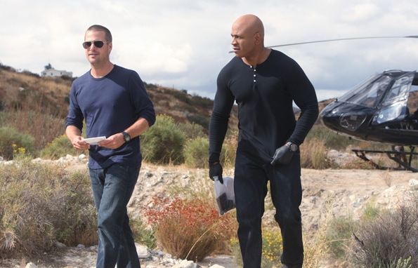 Special Agents G. Callen and Sam Hanna