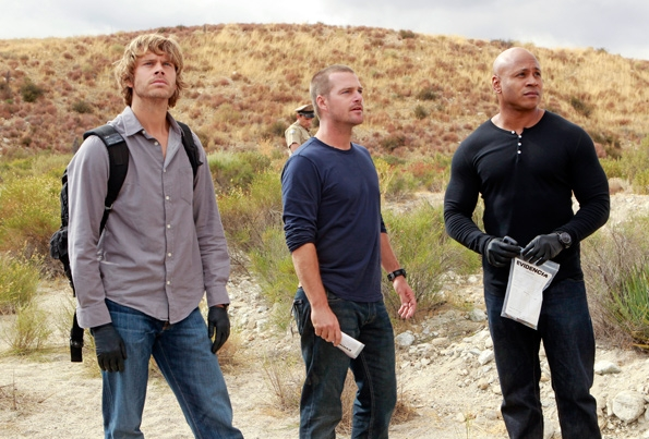 LAPD Detective Marty Deeks, Special Agent G. Callen  and Special Agent Sam Hanna