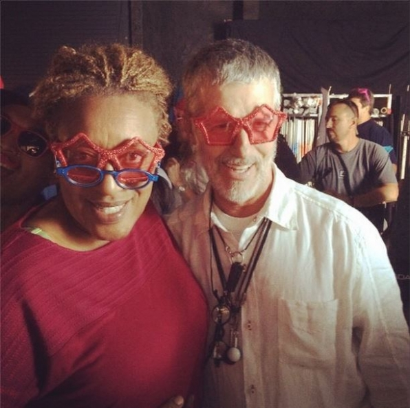 NCIS New Orleans Instagram: Pride's party! We had to wear something red! - CCH Pounder #NCISNOLA #CBSInstagramTakeover