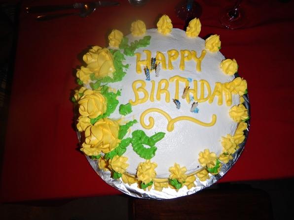 Josh's birthday cake