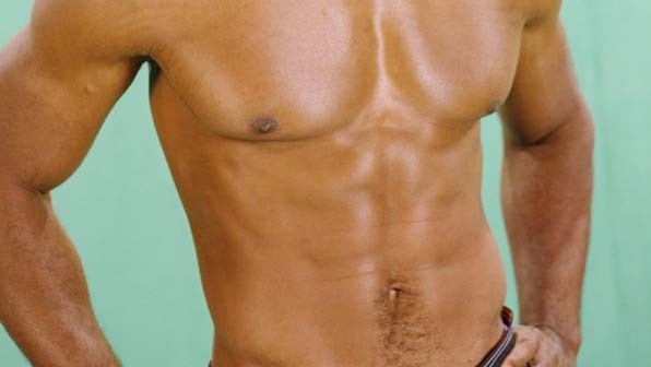 These abs are just plain beautiful.