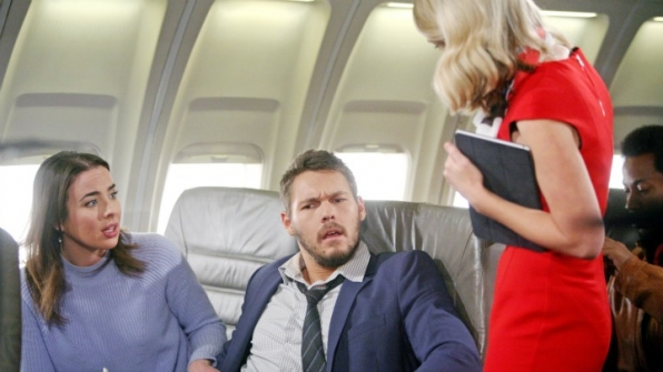 Liam is shocked to learn he's en route to Australia.