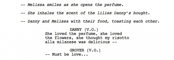 What kind of flower did Danny buy Melissa for Valentine's Day?