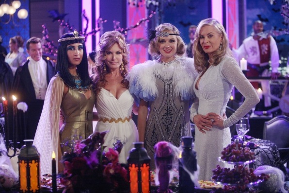 Genoa City gets festive at the Delia Project's Halloween gala