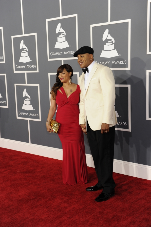 LL Cool J and Simone Smith