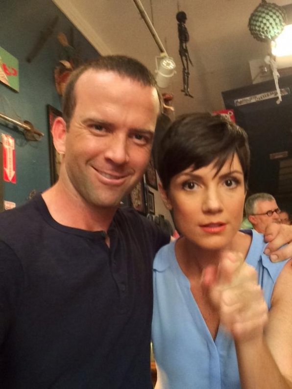 16. NCIS: New Orleans - Lucas Black and Zoe McLellan
