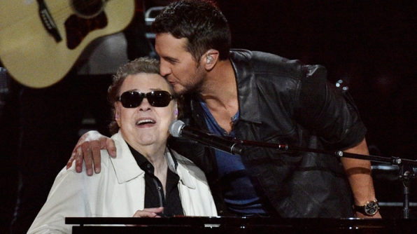Luke Bryan and Ronnie Milsap