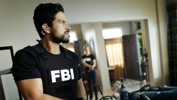 Adam Rodriguez on Criminal Minds