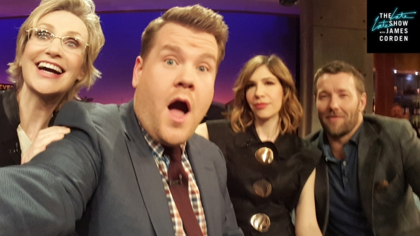 Jane Lynch, Carrie Brownstein, and Joel Edgerton