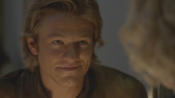 MacGyver flashes his signature smirk.