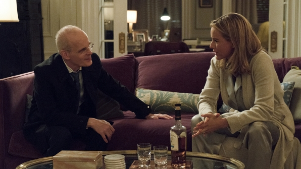 Bess and Russell teamed up to help President Dalton on Madam Secretary.
