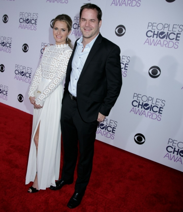 Maggie Lawson and Kyle Bornheimer