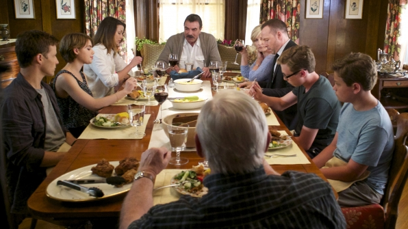 TV's Reagan family on Blue Bloods