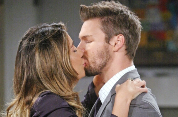 Steffy and Liam reconcile.