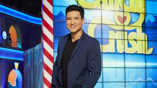 Mario Lopez from Candy Crush