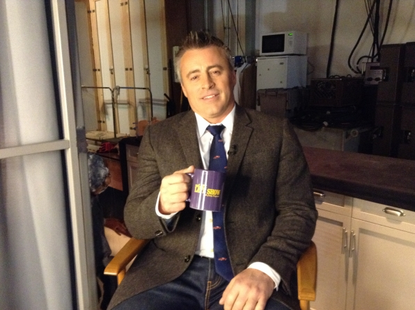 Matt Leblanc - Behind the Scenes at The Late Late Show
