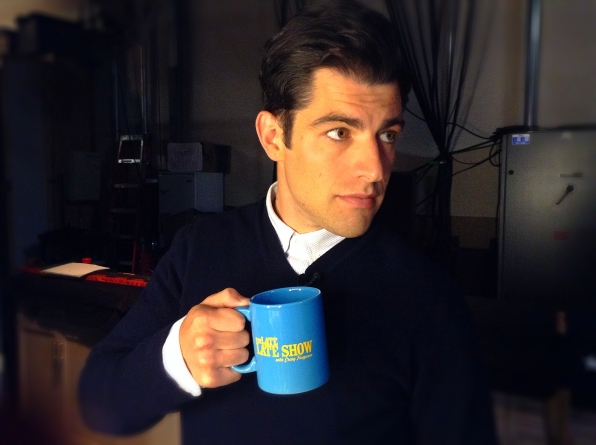 Max Greenfield Behind the Scenes