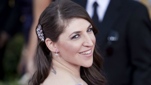 1. Mayim Bialik loves sloths.