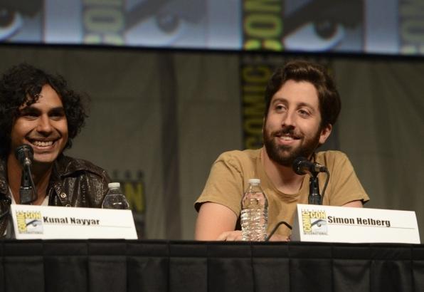 The Big Bang Theory's Kunal Nayyar and Simon Helberg