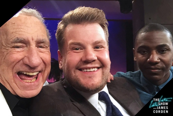 Mel Brooks and Jerrod Carmichael