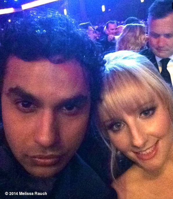 Kunal Nayyar & Melissa Rauch - The Big Bang Theory