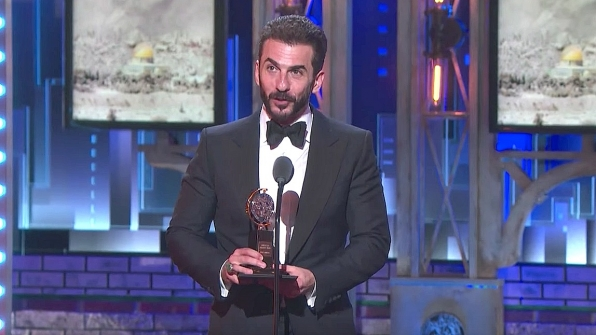 Michael Aronov wins the 71st Annual Tony Award for Best Performance by an Actor in a Featured Role in a Play