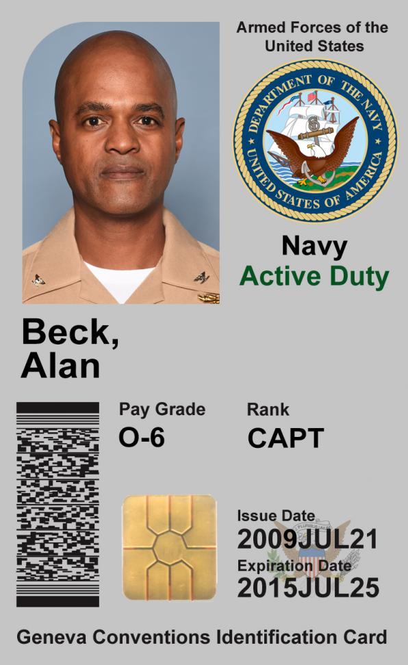 Captain Alan Beck