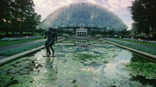 6. The Climatron in St. Louis, Missouri